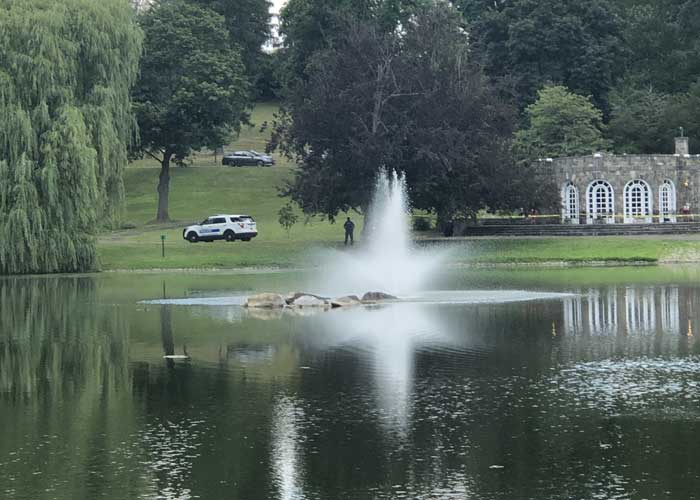 MidHudsonNews.com, Downing Park Pond in the City of Newburgh
