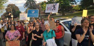 Kington immigration rally, MidHudsonNews.com