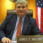 JAmes Maloney in the Ulster County Legislature Chambers