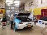 Wrapping and electric car