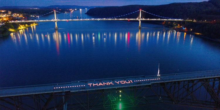 New York State Historic Park Walkway Over The Hudson Says Thank You