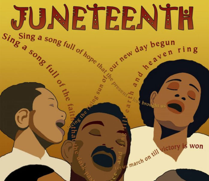 Silent March Commemorates Juneteenth In City