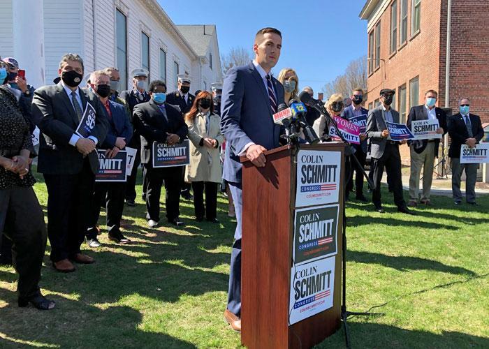 Schmitt formally announces congressional run - Mid Hudson News